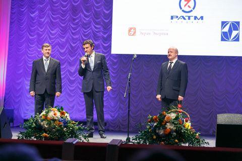 Анатолий Локоть и Эдуард Таран